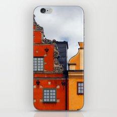 Stockholm. Colorful Houses in Gamla Stan iPhone & iPod Skin