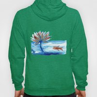 The Lotus and the Goldfish Hoody