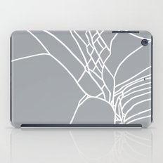 Cracked White on Grey iPad Case