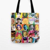POP Wallpaper Tote Bag
