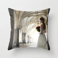 Before The Isle Throw Pillow