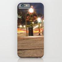 Downtown Blacksburg Christmas iPhone 6 Slim Case
