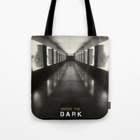 Enter The Dark Tote Bag