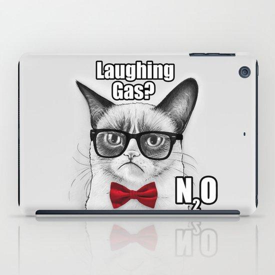 Grumpy Chemistry Cat iPad Case