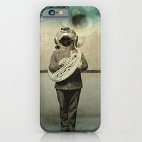 iPhone & iPod Case featuring the diving bell Tuba quintet by vin zzep