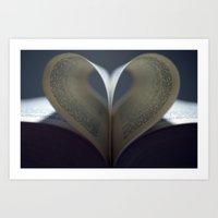 Moody Love Art Print