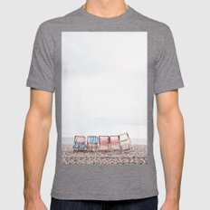 Stuff chairs beach Mens Fitted Tee Tri-Grey SMALL