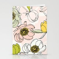 Peonies I Stationery Cards