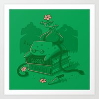 The power of knowledge Art Print