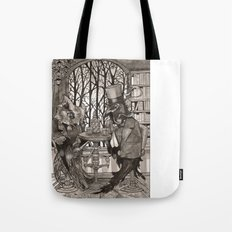 The Owl & The Raven Tote Bag