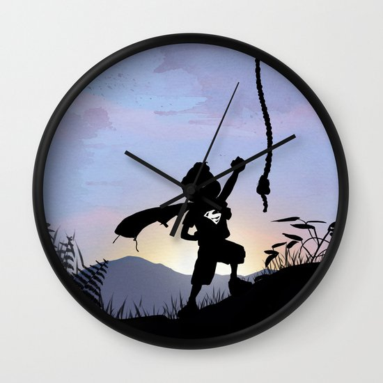 Super Kid Wall Clock