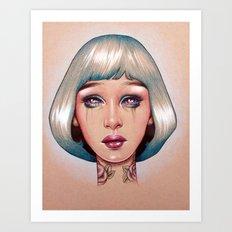 Orion is Bleeding Art Print