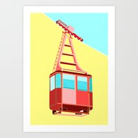 To The Sky Art Print