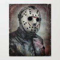 Jason Portrait Canvas Print