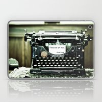 You don't write anymore... Laptop & iPad Skin