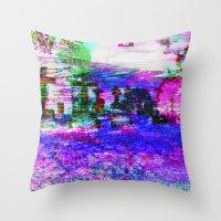 Elucidate (collaboration w/ Alea Bushardt) Throw Pillow