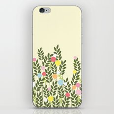 graphic flowers iPhone & iPod Skin