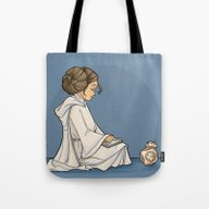 Tote Bag featuring New Toy by Karen Hallion Illust…