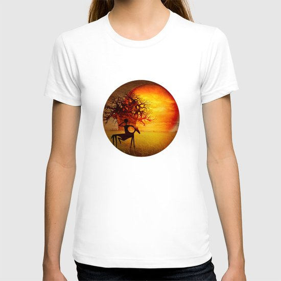 Visions of fire T-shirt