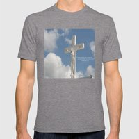 Holy... Mens Fitted Tee Tri-Grey SMALL