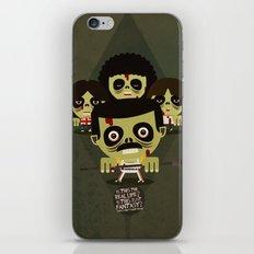 queen zombies iPhone & iPod Skin