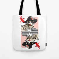 Queen of Heart Tote Bag