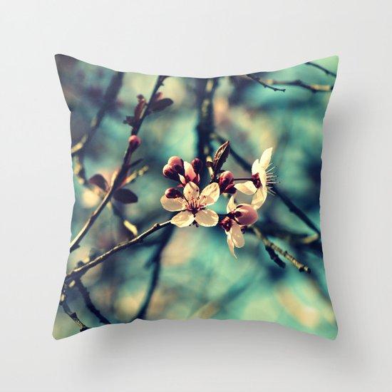 Blooming Beautiful Throw Pillow