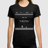 Another Youma Womens Fitted Tee Tri-Black SMALL