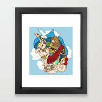 Jesus Piece Framed Art Print