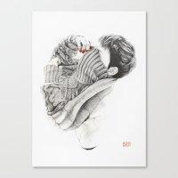 Pullover Attack Canvas Print