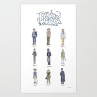 Tomboy Heroes of the Cinema Art Print
