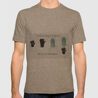 The Four Stages Of Winter Mens Fitted Tee Tri-Coffee SMALL