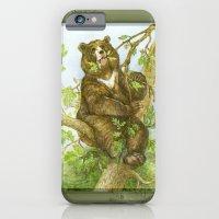 Bear on a Tree iPhone 6 Slim Case