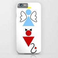 Dengel (Angel + Devil) iPhone 6 Slim Case