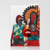 Native Love  Stationery Cards