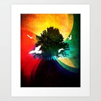 ETERNUS VINEA Art Print