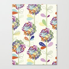 Floral Pattern #50 Canvas Print