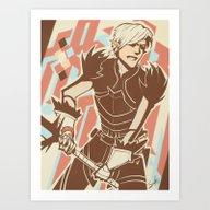 Dragon Age: Fenris Art Print