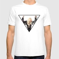 Britney Body Ache Mens Fitted Tee White SMALL