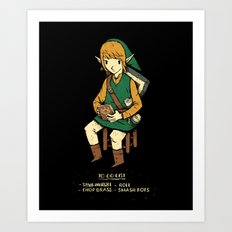 link to do list Art Print