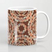 Brown Decorative Pattern Mug