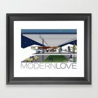 Modern Love - Rader Desi… Framed Art Print