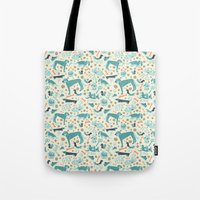 Park Dogs Tote Bag