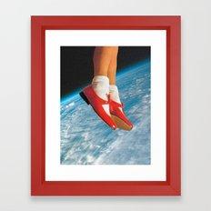 The shoes  Framed Art Print