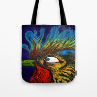 Rooster, Gnarley Tote Bag