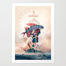 FlyFish Art Print