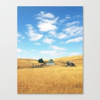 Barn. Canvas Print