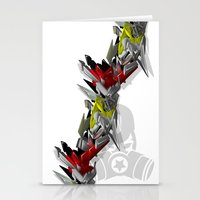 3D GRAFFITI - HIP-HOP Stationery Cards