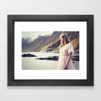 The Young Girl And The S… Framed Art Print