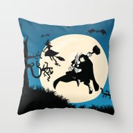 Thor After Witch Throw Pillow